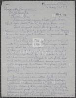 Constituent correspondence regarding capital punishment and the impeachment inquiry