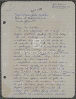 Constituent correspondence regarding the Arab oil embargo