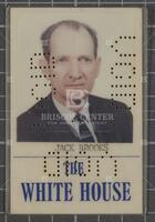 White House identification card for Jack Brooks, undated