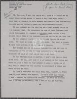 Chairman Jack Brooks, statement on proxy rule change, Democratic caucus, January 31, 1979