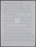 Additional Views of Congressman Jack Brooks, undated