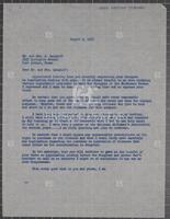 Constituent correspondence regarding gun control, 1965