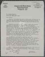 Correspondence with a friend regarding Iran, 1987