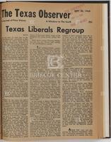 """""""Texas Liberals Regroup"""""""